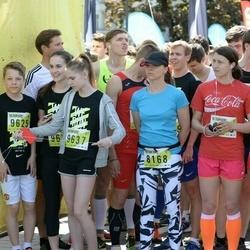 DNB - Nike We Run Vilnius - Ieva Šagauskaite (8168), Borch Noah (9625), Adele Nedzinskaite (9637)