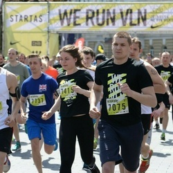 DNB - Nike We Run Vilnius - Sigitas Žvingilas (7075), Arturas Lazarevas (7370), Gabija Karlonaite (7415), Mantas Labukas (7737)