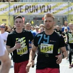 DNB - Nike We Run Vilnius - Rytis Pocevicius (8381), Mantas Balciukynas (8954)