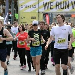 DNB - Nike We Run Vilnius - Mindaugas Grigas (6717), Indre Cepaite (8492)