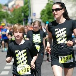DNB - Nike We Run Vilnius - Viktorija Tomaševiciene (7234), Domas Tomaševicius (7236)