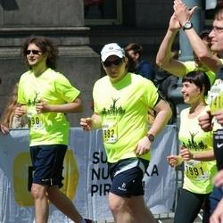 DNB - Nike We Run Vilnius - Tautvydas Laukis (7982), Dalia Miliauskaite (7991)