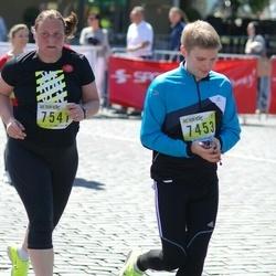 DNB - Nike We Run Vilnius - Vladislav Markovic (7453), Susanne Gemmet (7541)