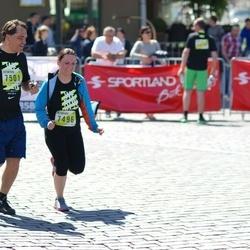 DNB - Nike We Run Vilnius - Indra Medelinskaite (7496), Mikas Višcinis (7501)