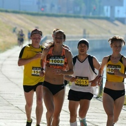 Kaunas Marathon - Maksim Kulik (15), Rasa Drazdauskaite (1003)