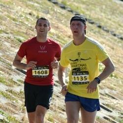 Kaunas Marathon - Arunas Gardþiulis (1135), Jaroslav Belskij (1608)