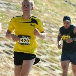 Kaunas Marathon - Tadas Bytautas (207), Egidijus Šustauskas (1420)
