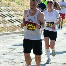 Kaunas Marathon - Alan Wilcox (99), Reda Žalimiene (1527)