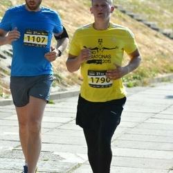 Kaunas Marathon - Romas Žimkus (1107), Saulius Barinovas (1790)