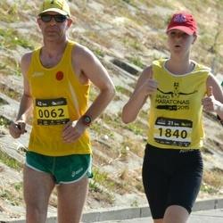 Kaunas Marathon - Ignas Staškevicius (62), Ieva Brazyte (1840)