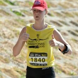 Kaunas Marathon - Ieva Brazyte (1840)