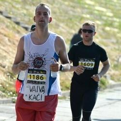 Kaunas Marathon - Marius Sirevicius (1186), Sigitas Pranskunas (1609)