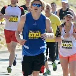 Kaunas Marathon - Aurimas Liuiza (134), Inga Bruþikiene (1435)