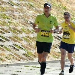 Kaunas Marathon - Ramunas Širvys (173), Juozas Kupcinskas (1167)