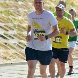 Kaunas Marathon - Egidijus Rapolas (1296), Darius Stašelis (1569)