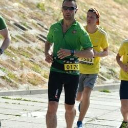 Kaunas Marathon - Romualdas Petkevicius (170), Martynas Zdanavicius (1503)