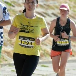 Kaunas Marathon - Loreta Petrauskaite (1294), Valentina Cerniauskaite (1318)