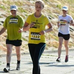 Kaunas Marathon - Deimante Mikuckyte (1222), Adolfas Kriþinauskas (1664)