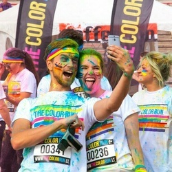The Color Run Shine