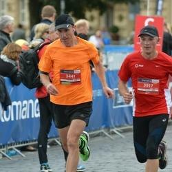 12th Danske Bank Vilnius Marathon - Artūras Linga (3441), Andrej Voinilko (3917)