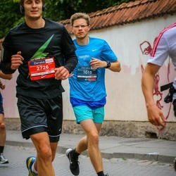 12th Danske Bank Vilnius Marathon - Tadas Zaikauskas (1015), Gediminas Druskis (2726)