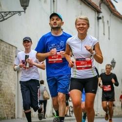 12th Danske Bank Vilnius Marathon - Yvan Leclere (2437), Kristīne Antužāne (3911)