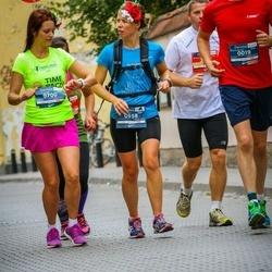 12th Danske Bank Vilnius Marathon - Lelde Broka (700), Sigita Vāce (958)