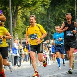12th Danske Bank Vilnius Marathon - Wojciech Fiszer (309), Algirdas Striūka (985)