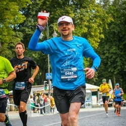 12th Danske Bank Vilnius Marathon - Pontus Havgard (314), Jacek Chmielewski (485)