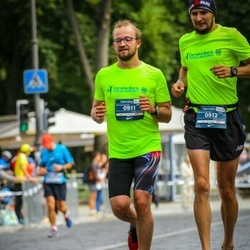 12th Danske Bank Vilnius Marathon - Andrius Bagdonavičius (911), Edgar Deduchov (912)