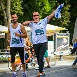 12th Danske Bank Vilnius Marathon - Jukka Romppainen (330), Luca Colussi (483)