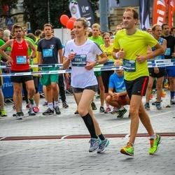 12th Danske Bank Vilnius Marathon - Arturas Minikauskas (558), Ieva Usackyte (992)