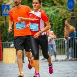 12th Danske Bank Vilnius Marathon - Artur Černiavskij (8281), Neringa Norkutė (9283)