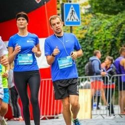 12th Danske Bank Vilnius Marathon - Ivona Valiukevičiūtė-Šimanel (6568), Darius Simanel (8500)