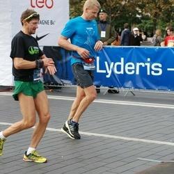 12th Danske Bank Vilnius Marathon - Marius Jovaiša (39), Aidas Ardzijauskas (860)