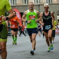 12th Danske Bank Vilnius Marathon - Norbert Lindemann (513), Sergej Kasatkin (3757)