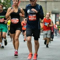 12th Danske Bank Vilnius Marathon - Veronika Viļuma (2320), Ramunas Asanavicius (2934)