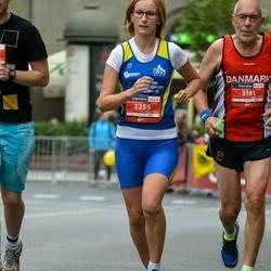 12th Danske Bank Vilnius Marathon - Katarzyna Kos (2355), Jens Axel Thorup (3161)