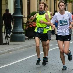 12th Danske Bank Vilnius Marathon - Uldis Kļaviņš (676), Benjamin Huber (814)