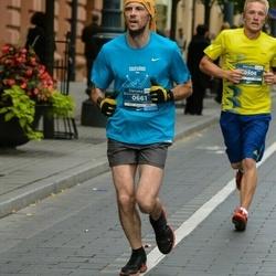 12th Danske Bank Vilnius Marathon - Virginijus Skrebutėnas (506), Dainius Tulaba (661)