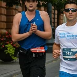 12th Danske Bank Vilnius Marathon - Andžej Šuškevič (831), Vainius Cetrauskas (4080)