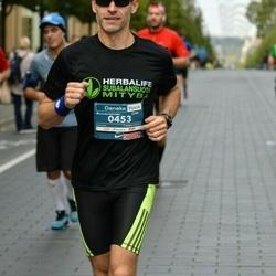 12th Danske Bank Vilnius Marathon - Šarūnas Jurėnas (453)