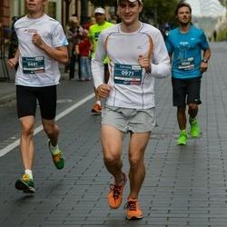 12th Danske Bank Vilnius Marathon - Antti Jaakkola (481), Gedeminas Davydovas (971)
