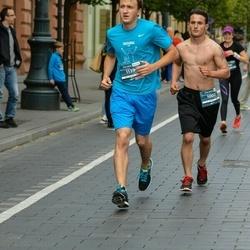 12th Danske Bank Vilnius Marathon - Jacob Hansbrough (1002), Arvydas Vencius (1139)
