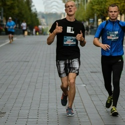 12th Danske Bank Vilnius Marathon - Algirdas Ubavičius (964), Dangeras Gedaminas (967)