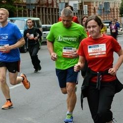 12th Danske Bank Vilnius Marathon - Donata Ribokaitė (10082), Vladas Mauragis (11908)