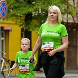 12th Danske Bank Vilnius Marathon - Sandra Rimkutė-Jankuvienė (11727), Irmantas Jankus (11729)