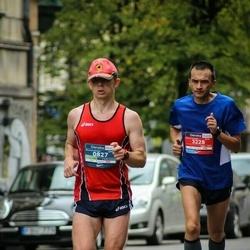 12th Danske Bank Vilnius Marathon - Darius Jazepčikas (827), Emilis Korsakas (3228)