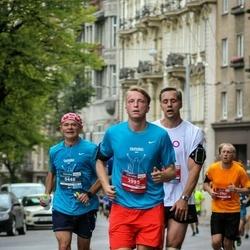12th Danske Bank Vilnius Marathon - Marek Brzustowicz (448), Ignas Rimkevičius (3995)