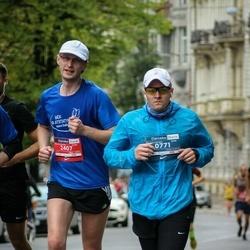12th Danske Bank Vilnius Marathon - Tomas Segalis (771), Jurgis Pakerys (2407)